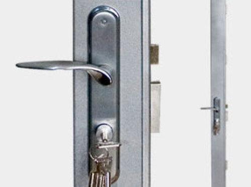 cerradura puerta metalica sidese